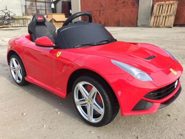 Masinuta electrica Ferrari F12 1x 25W STANDARD 12V #Rosu 3
