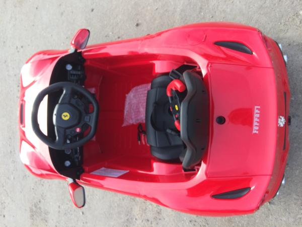 Masinuta electrica Ferrari F12 1x 25W STANDARD 12V #Rosu 5