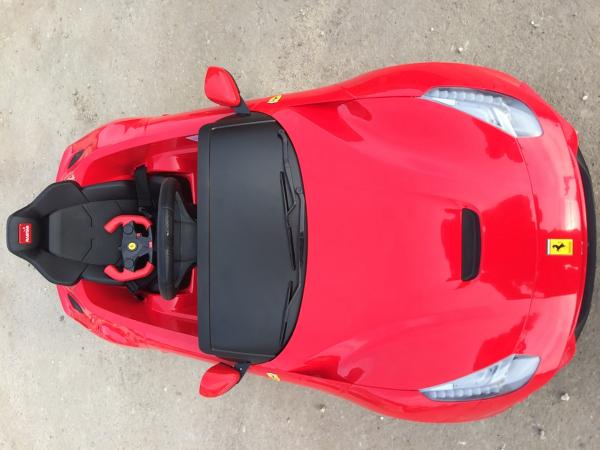 Masinuta electrica Ferrari F12 1x 25W STANDARD 12V #Rosu 6