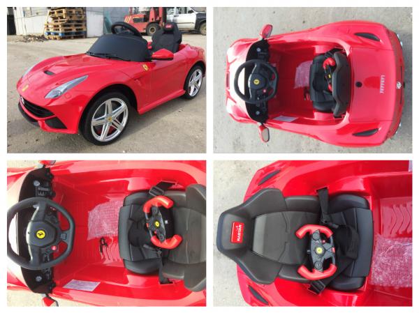 Masinuta electrica Ferrari F12 1x 25W STANDARD 12V #Rosu 7