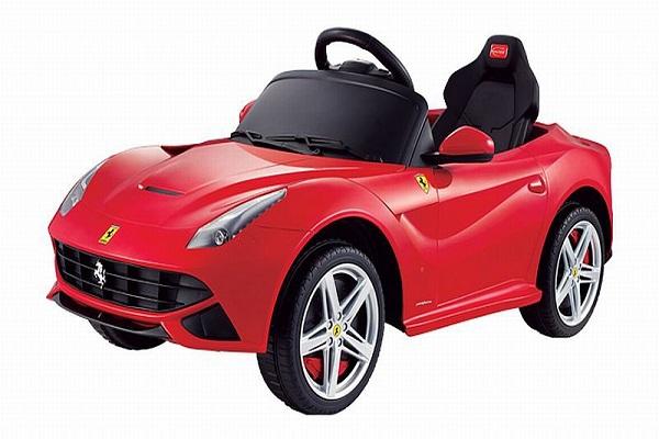 Masinuta electrica Ferrari F12 1x 25W STANDARD 12V #Rosu 0