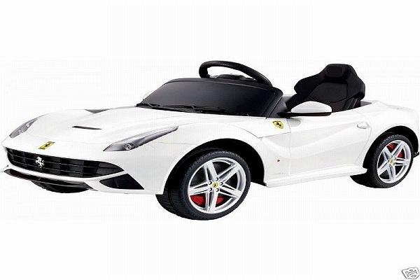 Masinuta electrica Ferrari F12 1x 25W STANDARD 12V #Alb 0