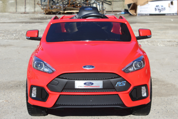 Masinuta electrica Ford Focus RS CU ROTI MOI #Rosu 2