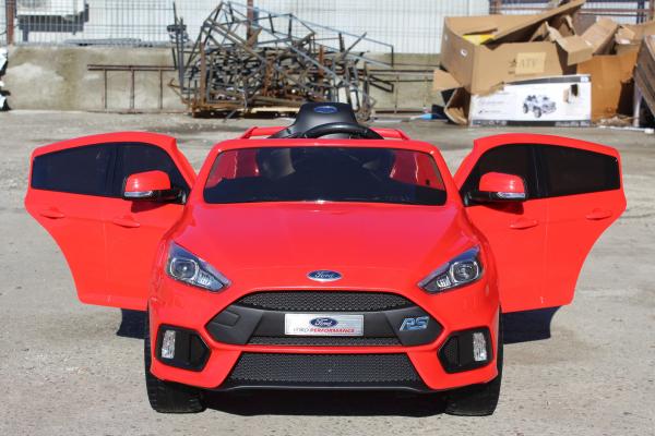 Masinuta electrica Ford Focus RS CU ROTI MOI #Rosu 3