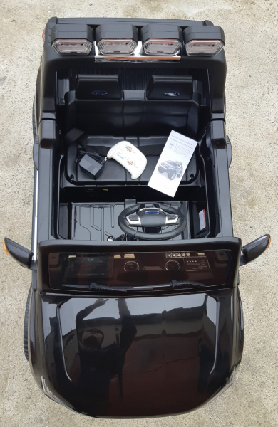 Masinuta electrica Ford Ranger WildTrak STANDARD 2x 35W 12V #Negru 5