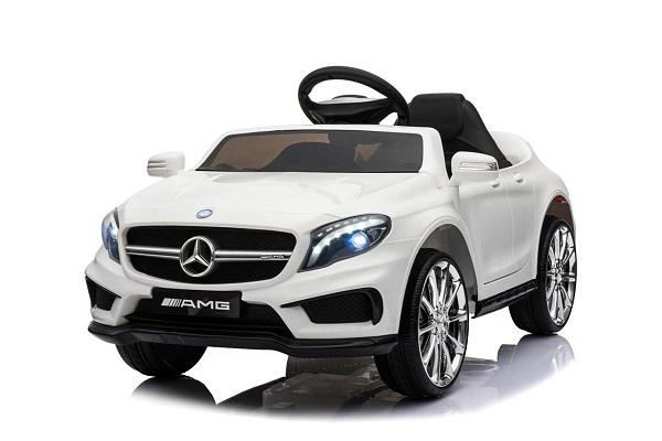 Masinuta electrica Mercedes GLA 45 2x30W STANDARD #Alb 0