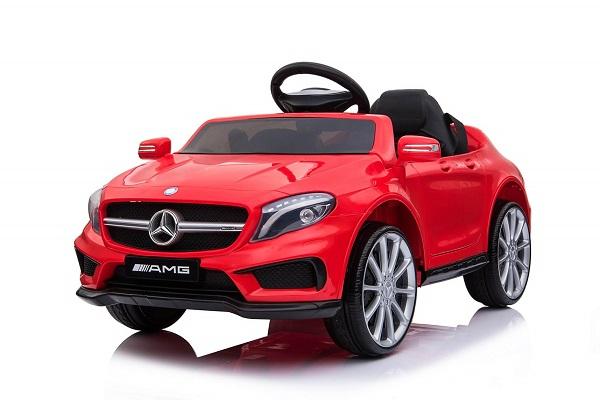 Masinuta electrica Mercedes GLA 45 2x30W STANDARD #Rosu 0