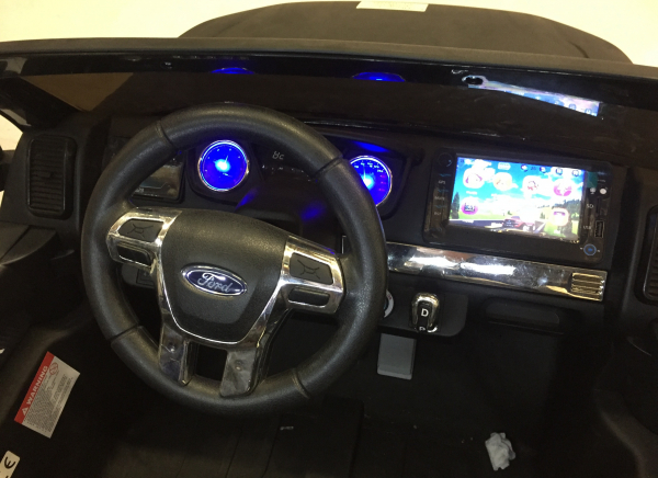 Masinuta electrica Ford Ranger 4x4 DELUXE #Negru 3