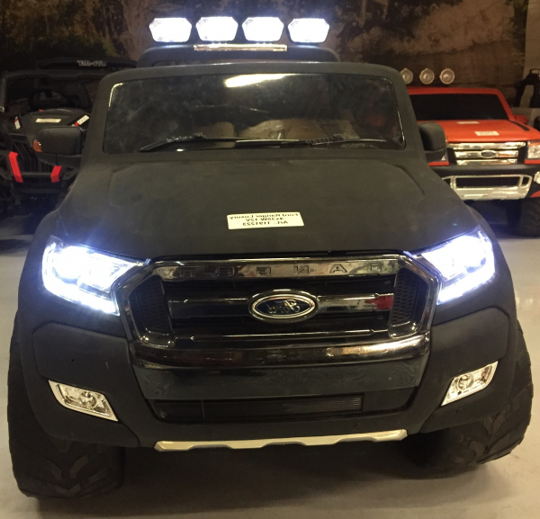 Masinuta electrica Ford Ranger 4x4 DELUXE #Negru 1