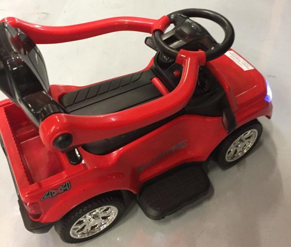 Carut pentru plimbat copii 2 in 1 Ford Ranger STANDARD #Rosu 8