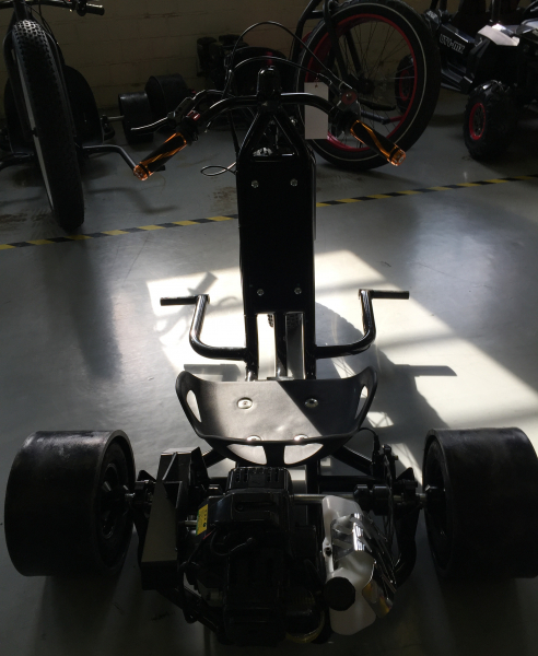 Motocicleta NITRO DRIFT-TRIKE 49cc Roti 20/10 3