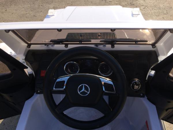 Masinuta electrica Mercedes G63 AMG, PREMIUM #ALB 7