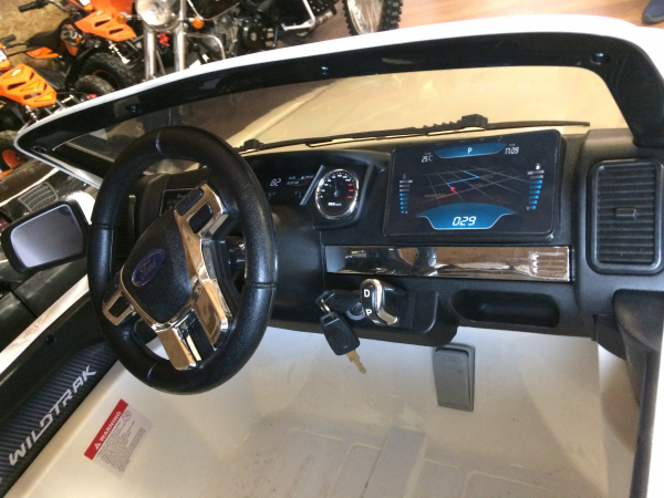 Masinuta electrica Ford Ranger WildTrak STANDARD 2x 35W 12V #ALB 5