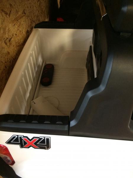 Masinuta electrica Ford Ranger WildTrak STANDARD 2x 35W 12V #ALB 4