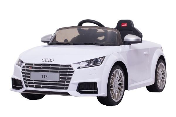 Kinderauto Audi TTS 2x 30W 12V PREMIUM #Alb 0