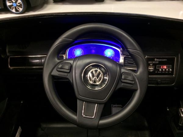 Masinuta electrica VW Touareg CU ROTI MOI 2x 35W 12V #ALB 8