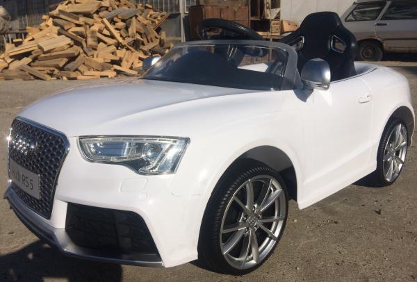 Masinuta electrica Audi RS5 2x35W STANDARD 12V MP3 #ALB 1