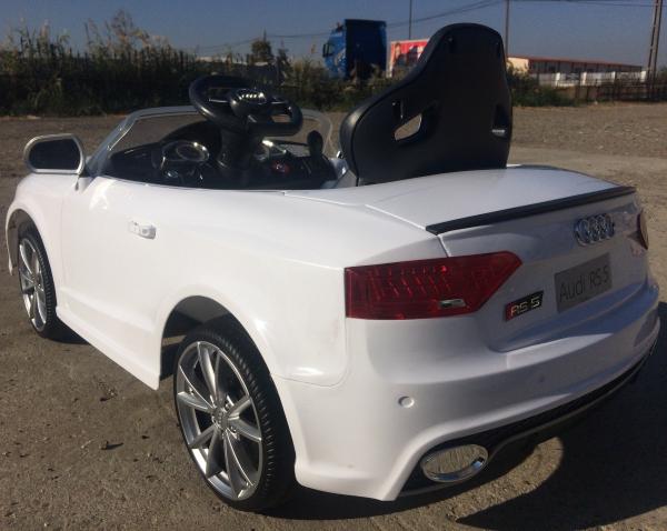 Masinuta electrica Audi RS5 2x35W STANDARD 12V MP3 #ALB 3