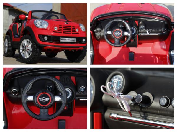 Kinderauto Mini Comberman STANDARD cu 2 locuri #Rosu 7