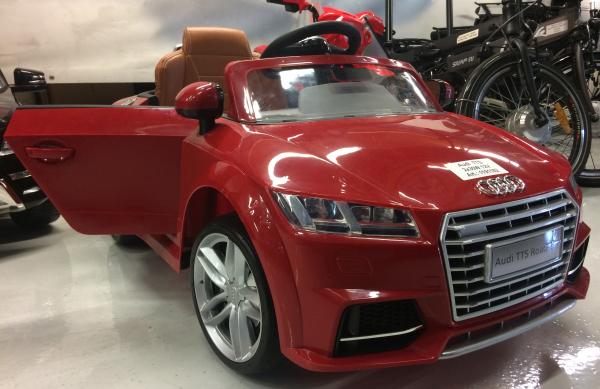 Kinderauto Audi TTS 2x 30W 12V PREMIUM #Rosu 1