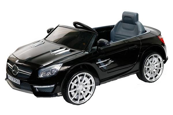 Masinuta electrica copii Mercedes SL63 AMG neagra 0