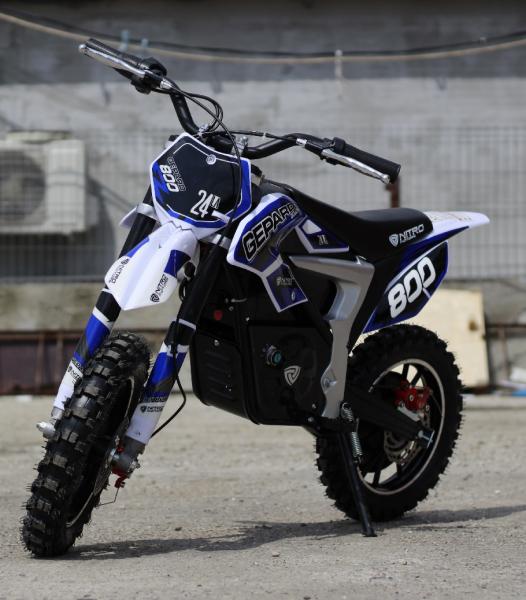 Mini Motocicleta Eco Ghepard 500W 24V #Albastra 1