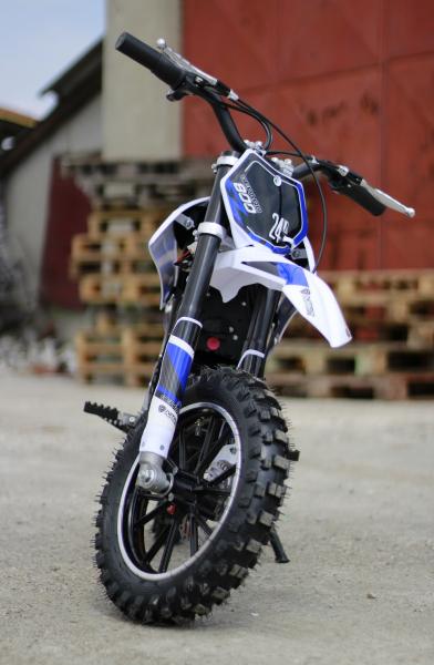 Mini Motocicleta Eco Ghepard 500W 24V #Albastra 2