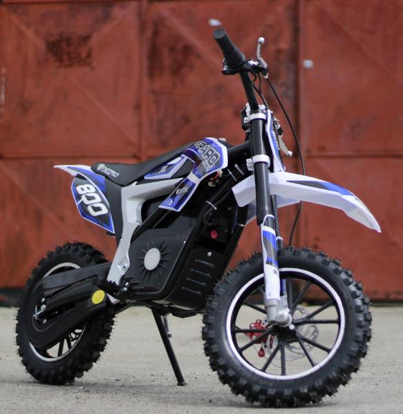Mini Motocicleta Eco Ghepard 500W 24V #Albastra 3