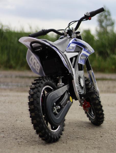 Mini Motocicleta Eco Ghepard 500W 24V #Albastra 5