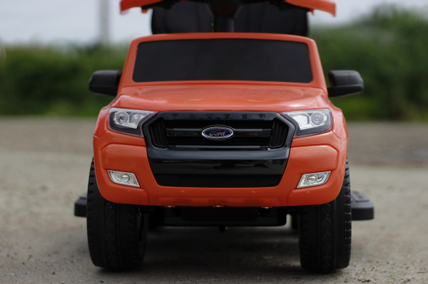 Carucior electric pentru copii 3 in 1 Ford Ranger STANDARD #Orange 4