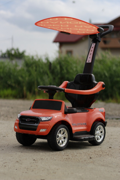 Carucior electric pentru copii 3 in 1 Ford Ranger STANDARD #Orange 6