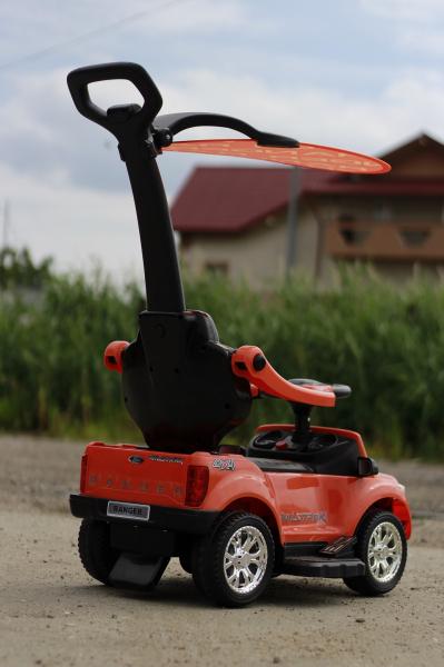 Carucior electric pentru copii 3 in 1 Ford Ranger STANDARD #Orange 3