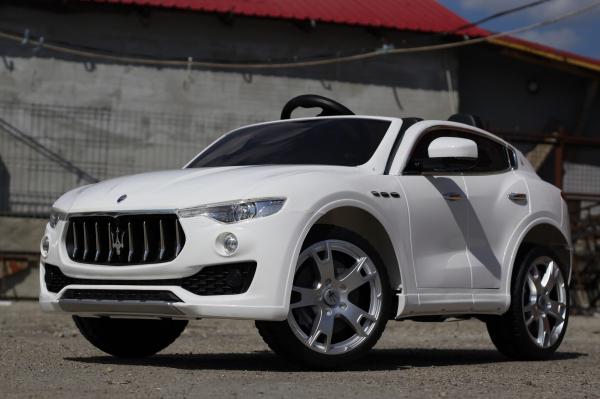 Maserati Levante, masinuta electrica pentru copii, alba 2