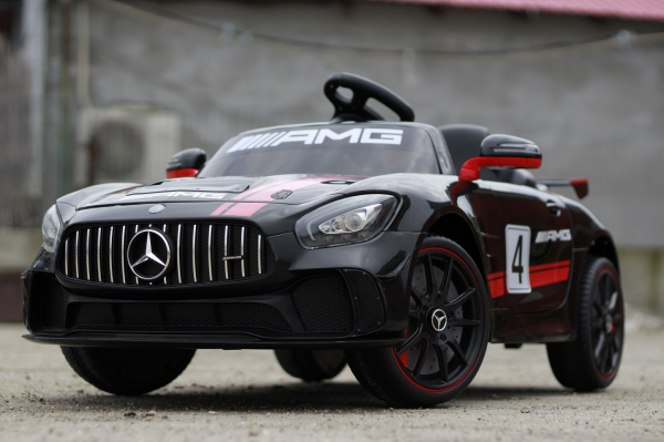 Kinderauto Mercedes GT-R 2x25W STANDARD #Negru 2