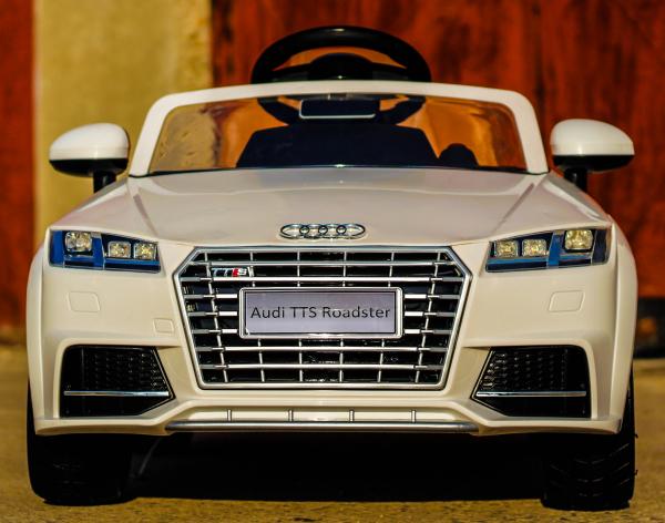 Kinderauto Audi TTS 2x 30W 12V PREMIUM #Alb 1