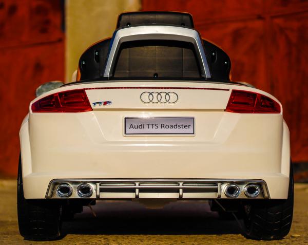 Kinderauto Audi TTS 2x 30W 12V PREMIUM #Alb 3