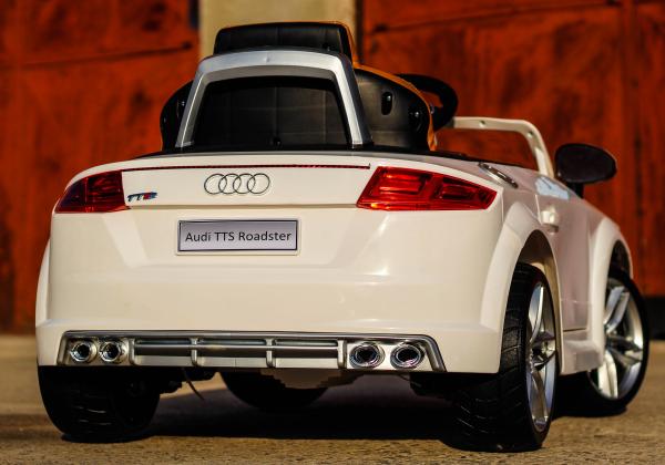 Kinderauto Audi TTS 2x 30W 12V PREMIUM #Alb 4