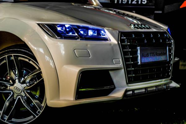 Kinderauto Audi TTS 2x 30W 12V PREMIUM #Alb 5