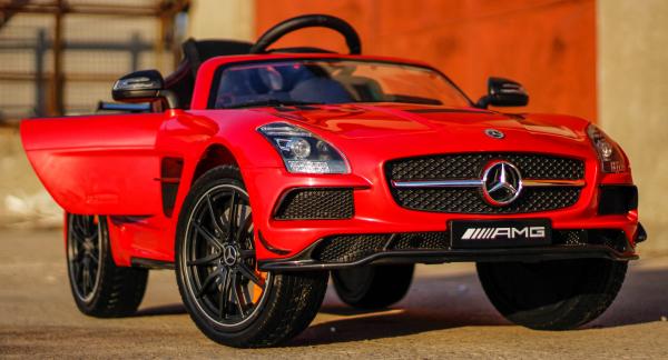 Masinuta electrica Mercedes SLS AMG PREMIUM #Rosu 2