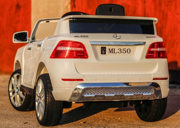 Masinuta electrica Mercedes ML350 2x25W STANDARD 12V # ALB 2