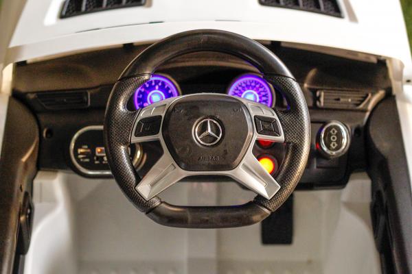Masinuta electrica Mercedes ML350 2x25W STANDARD 12V # ALB 5