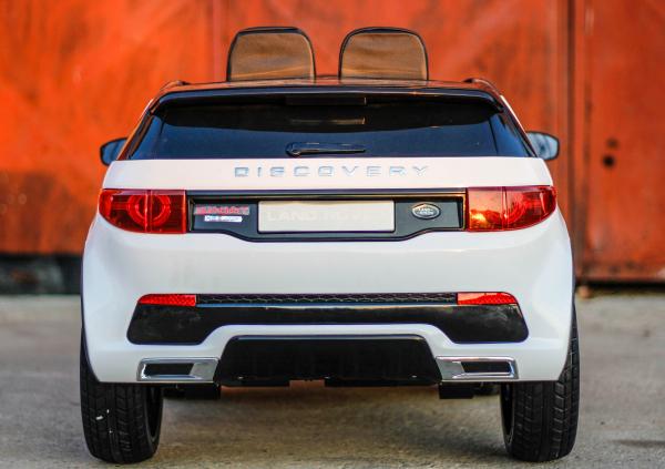 Masinuta electrica Land Rover Discovery DELUXE cu Touchscreen Mp4 #ALB 3