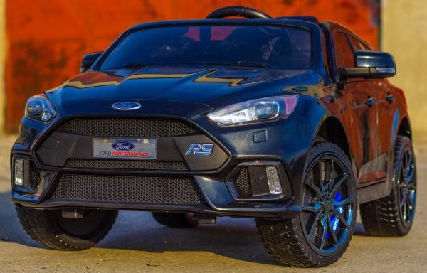 Masinuta electrica pentru copii Ford Focus RS negru [2]