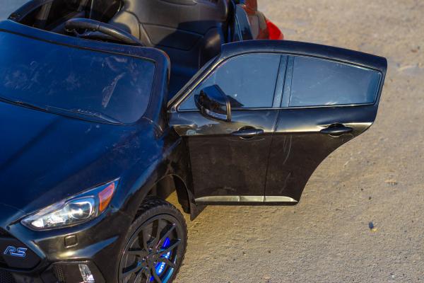 Masinuta electrica Ford Focus RS CU ROTI MOI #Negru 4