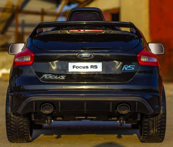 Masinuta electrica Ford Focus RS CU ROTI MOI #Negru 3