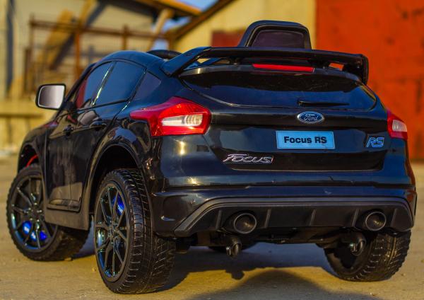 Masinuta electrica pentru copii Ford Focus RS negru [6]