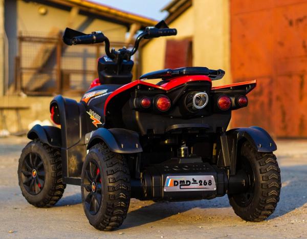 ATV EVA - Quad electric pentru copii 2x 45W 12V #Rosu 5