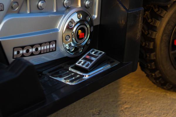 ATV Electrica pentru copii Dooma EVA - Quad 2x 45W 12V #Rosu 7