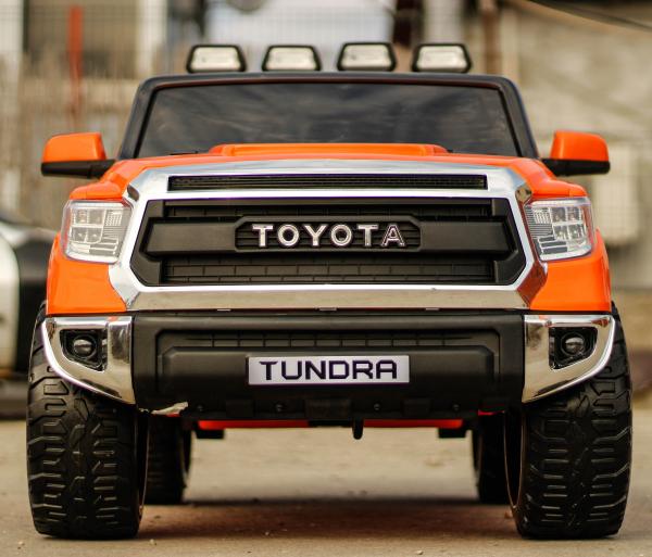 Masinuta electrica Toyota Tundra 2x45W PREMIUM #Portocaliu 1