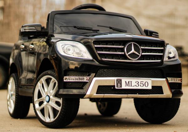 Masinuta electrica Mercedes ML350 2x25W STANDARD 12V #Negru 1